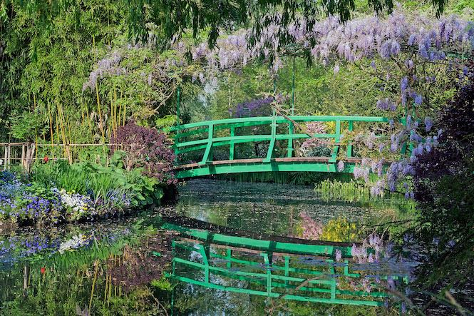 Visit Monet's gardens in Giverny